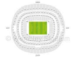 Wembley Stadium Seat Plan