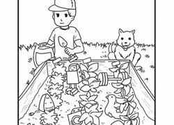 Small Picture Garden Coloring Pages Printables Educationcom
