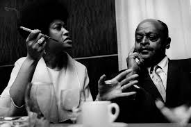 Fotoarchief Pieter Boersma/jazz/Abbey Lincoln Ben Webster Hilversum 06  1966.358-6