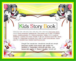 How To Write A Children S Story Template Kids Story Writing Book Template Word Excel Templates