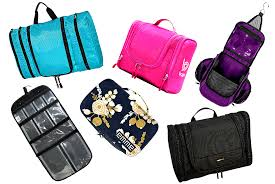 the best hanging toiletry bag for women organizes everything