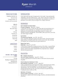 If you are a career changer or have many years of experience, craft a powerful summary to highlight your accomplishments and skills. Journalist Resume Sample 2021 Writing Guide Tips Resumekraft