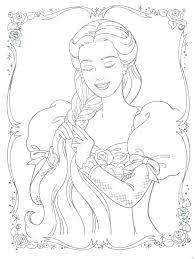 Baby Disney Princess Coloring Pages Printable Princess Coloring
