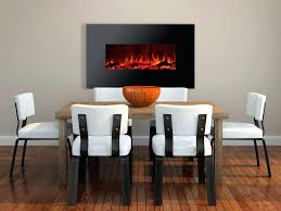 50 electric fireplace outdo blck wall mount