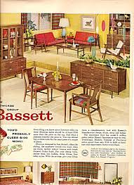 Bassett furniture ad 1960 Miscellaneous Furniture at Miss Pack Ratz