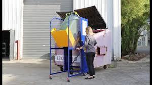 Bin Tipper Design Liftmaster Ecolift Bin Lifter Demonstration Empty Wheelie Bins With Ease Safe Waste Management