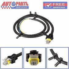 2pcs abs wheel speed sensor wire harness plug for chevrolet buick new abs wheel speed sensor wire harness for impala sts cts srx h2 10340314 aw