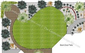 Backyard Landscape Plans Large And Beautiful Photos Photo To Custom Backyard Landscape Designs