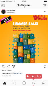 Poster Design Instagram Entry 8 By Trupstech For Summer Season Discount Poster For