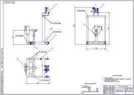 Проектирование стенда для разборки сборки двигателя Зил  Стенд для разборки и сборки ДВС ЗИЛ 130