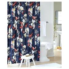 navy blue fl shower curtain target