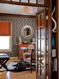neutral office decor. Graceful Wallpaper Home Office Neutral Decor