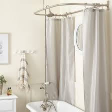 showers for clawfoot bathtub gooseneck clawfoot tub shower conversion kit d style shower ring