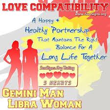 Gemini Man And Libra Woman Love Compatibility Sunsigns Org
