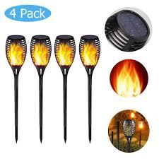33/<b>72LED Solar Flame</b> Lamp LED Garden Decoration Flickering ...