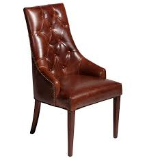 traditional chair leather medusa