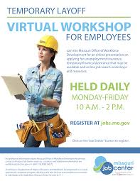 The main purpose of unemployment benefits is to offer limited financial assistance to unemployed mo residents in order to help them get by until they find a new job. Http Choosesaintjoseph Com Wp Content Uploads 2020 07 Virtual Unemployment Insurance Workshops Pdf