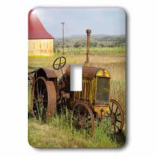 Tractor Light Switch Cover Tractor In Field 1 Gang Toggle Light Switch Wall Plate