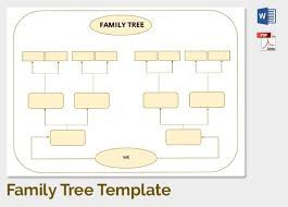 Family Tree Printable Template Family Tree Templates Download Free Family Tree Templates From