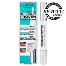 <b>L</b>'<b>Oréal</b> Paris <b>Clinically Proven</b> Lash Serum Review | BEAUTY/crew