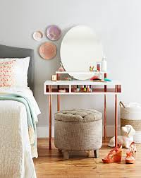 Vanity Tables This Diy Dressing Table With A Floating Shelf And Mirror Uses