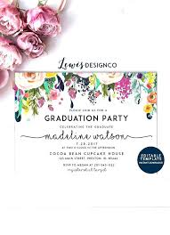4 215 6 graduation party invitations resume lovely and