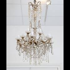 baccarat crystal chandelier louis xvi style