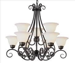 9 light chandelier 6399 pw