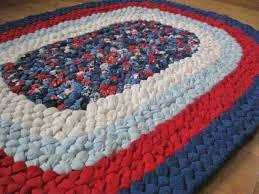 small nautical oval braided rug from recycled cotton small oval rugs