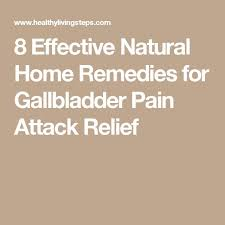 pain relief gallbladder attack