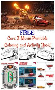 Free printable coloring pictures of cars: Free Cars 3 Movie Printable Coloring Pages And Activity Book Midgetmomma