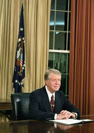 jimmy carter oval office. President Jimmy Carter In The Oval Office At White House. T