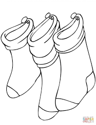 Small Picture Coloring Pages Christmas Coloring Pages Stocking Blank Christmas