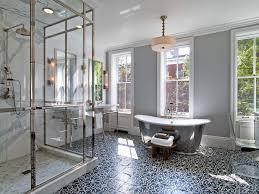Black And White Patterned Floor Tiles Fascinating Popular Patterned Bathroom Floor Tiles Saura V Dutt Stones Tips