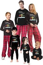 Estos juegos de invierno harán aflorar tu. Amazon Com Pijamas De Navidad Jesus Para Familia Pijama De Navidad Cristiana A Juego Para Navidad Clothing