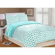 turquoise chevron duvet cover bedding set twin aqua turquoise chevron quilt cover