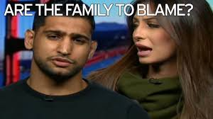 Amir Khan hints his FAMILY may have leaked sex tape It was.