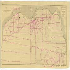 Gulf Coast Nautical Charts Amazon Com Vintography 18 X 24 Canvas 1878 Texas Old