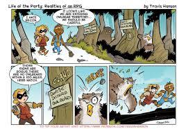 "travis hanson on Twitter: ""Recon #owlbear #comics #cartoons #webcomics  #comic #webtoon #funny #humor #laughter… """