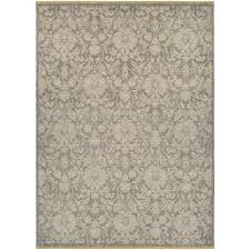 couristan elegance lorelei grey tan 8 ft x 11 ft area rug