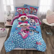 l o l surprise 6 piece born rockers blue full size bed in a
