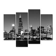 amazon com 4 pieces modern canvas painting wall art the picture