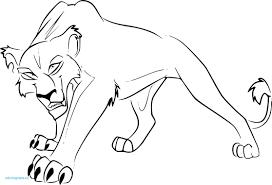 Coloriage Roi Lion Awesome Le Roi Lion Coloriage Nala Collection