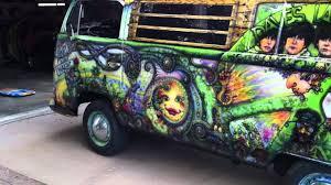 Hippie Buses 1969 Vw Hippy Van Youtube