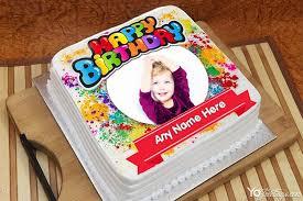 amazing happy birthday cake with name