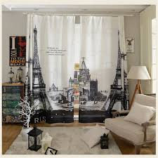 Peachy Design Paris Curtains For Bedroom Aliexpress Com Buy Modern Curtain  Living Room Home