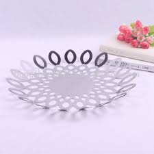 Decorative Wire Tray Decorate Fruit Wire Tray Restaurant Bar Fruit Trays Container Fruit 54