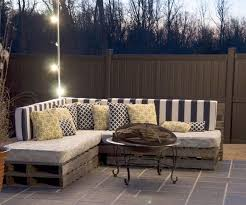 outdoor furniture from pallets. Exellent Furniture Medium Sized Throw Pillows  DIY Making Your Own Pallet Patio Furniture On Outdoor From Pallets