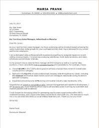 Sales Cover Letter Sample Monster Com Of For Personal Trainer