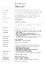 cover letter examples waitress 4 cover letter examples for waitress